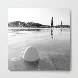 Swimtime Metal Print
