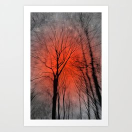 In Dreams - Nature Series II Art Print