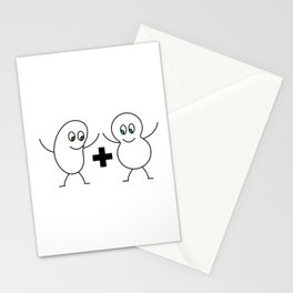 A Bean and a Peanut Stationery Cards