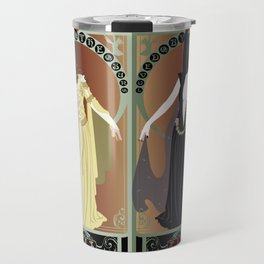 Legend Nouveau - Mirrored Travel Mug