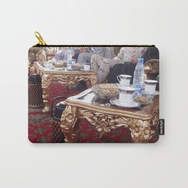 Big Men Around Fancy Tables Carry-All Pouch