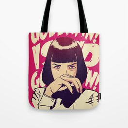 Pulp Fiction Mia Wallace Tote Bag
