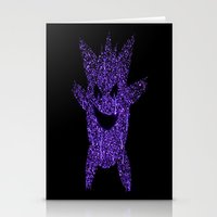gengar Stationery Cards featuring Gengar by Dead City