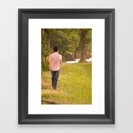 sayonara Framed Art Print