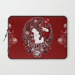 Poison - Blood Rose Laptop Sleeve