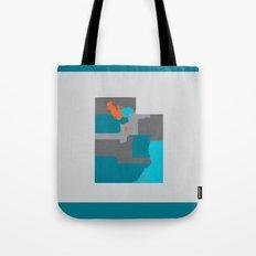 Utah State Map Print Tote Bag