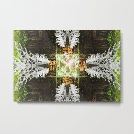 Embrace Green Metal Print
