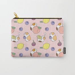 Guinea pig and fruits pattern Carry-All Pouch