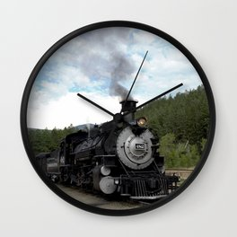 Engine No. 482 at the Rockwood Depot Wall Clock