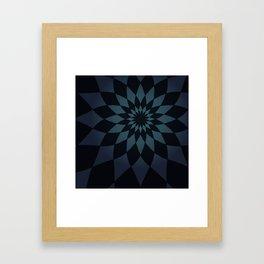 Wonderland Floor in Muted Rain Colors Framed Art Print