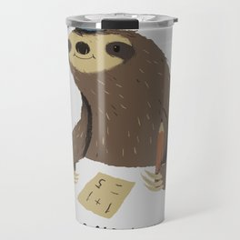 sloth speed Travel Mug