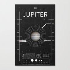 OMG SPACE: Jupiter 1970 - 2010 Canvas Print