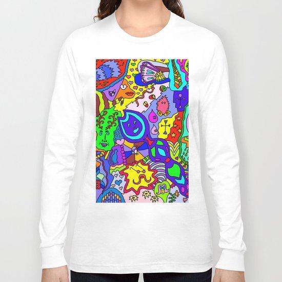 Abstract 24 Long Sleeve T-shirt
