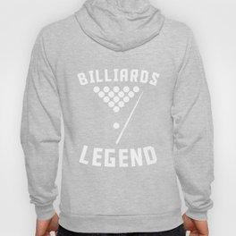 Billiards Legend Pool Player Hoody