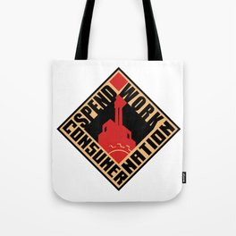 Consumer Nation Tote Bag