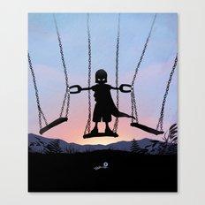 Magneto Kid Canvas Print