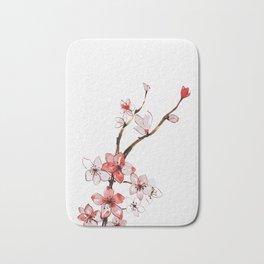Cherry blossom 2 Bath Mat