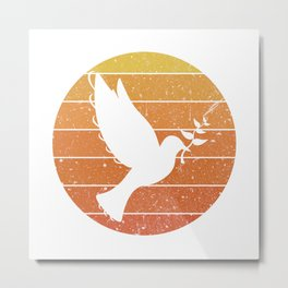 Peace Dove Metal Print