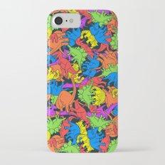 Tetrisaurus iPhone 7 Slim Case