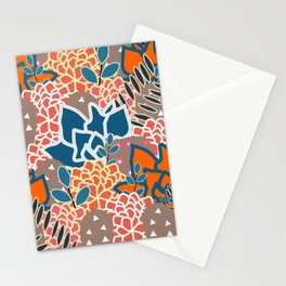 Succulents crowd Stationery Cards