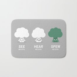 Spew No Evil Bath Mat
