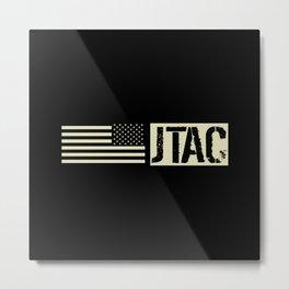 JTAC: Black Flag Metal Print