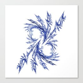 Delicate Ornament Canvas Print