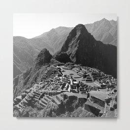 Machu Picchu v.2 Metal Print