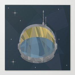 Geometric Astronaut Canvas Print