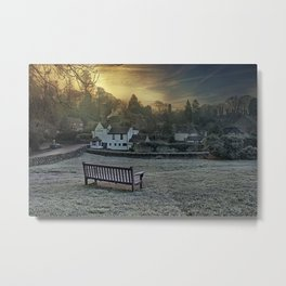 Loose Hill And Chequers Metal Print