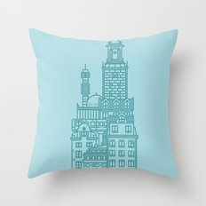 Stockholm (Cities series) Throw Pillow