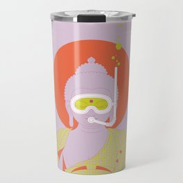 Buddha : Take A Deep Breath! (PopArtVersion) Travel Mug