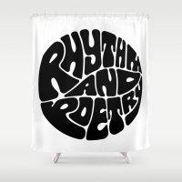 rap Shower Curtains featuring Rap by guissëpi