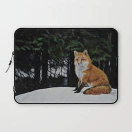 Red Fox of Algonquin by Teresa Thompson Laptop Sleeve