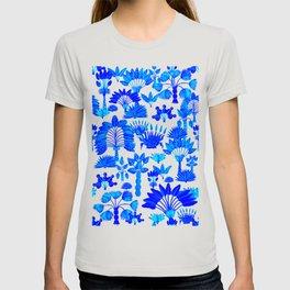 Exotic Garden Blue T-shirt