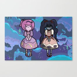 Sweet Lolita Marci and Bubblegum Canvas Print