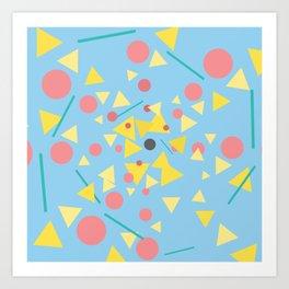 Chaos around you Art Print