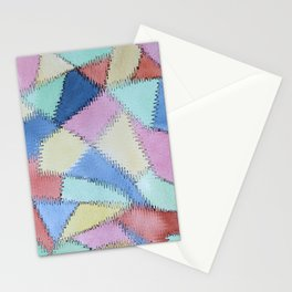 Frizzed Lines Stationery Cards