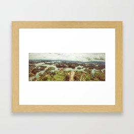 Colombian Lake Framed Art Print