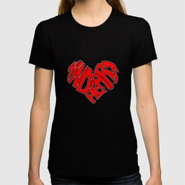 Kind Heart Spread The Love And Kindness Not Bully T-shirt
