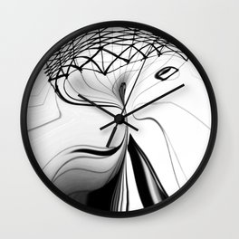 Bends Wall Clock