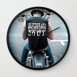 Bluegrass Heartache Soul Wall Clock