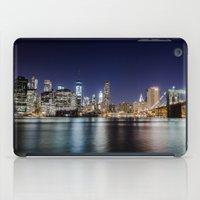 brooklyn bridge iPad Cases featuring Brooklyn Bridge by Gunjan Marwah