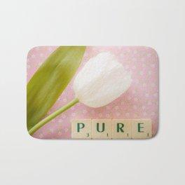 Pure - White Tulip Bath Mat
