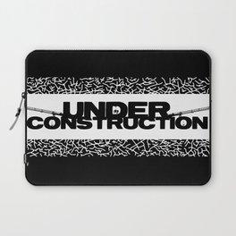 Under Construction Ground Laptop Sleeve
