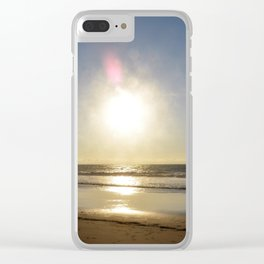 Sun, Sand and Sea Clear iPhone Case