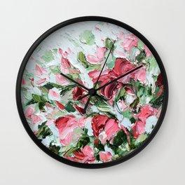 Claret 2 Wall Clock
