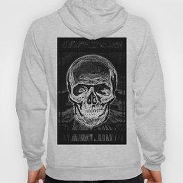 Skull (Black and White) Hoody