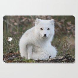 Polar Fox by Anne Elisabeth Cutting Board