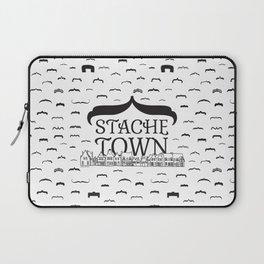 Stache Town Laptop Sleeve